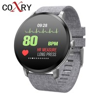 COXRY Sports Watches Mens Smart Watch Men Waterproof IP67 Tempered Glass Fitness Tracker Heart Rate Monitor Pedometer Smartwatch