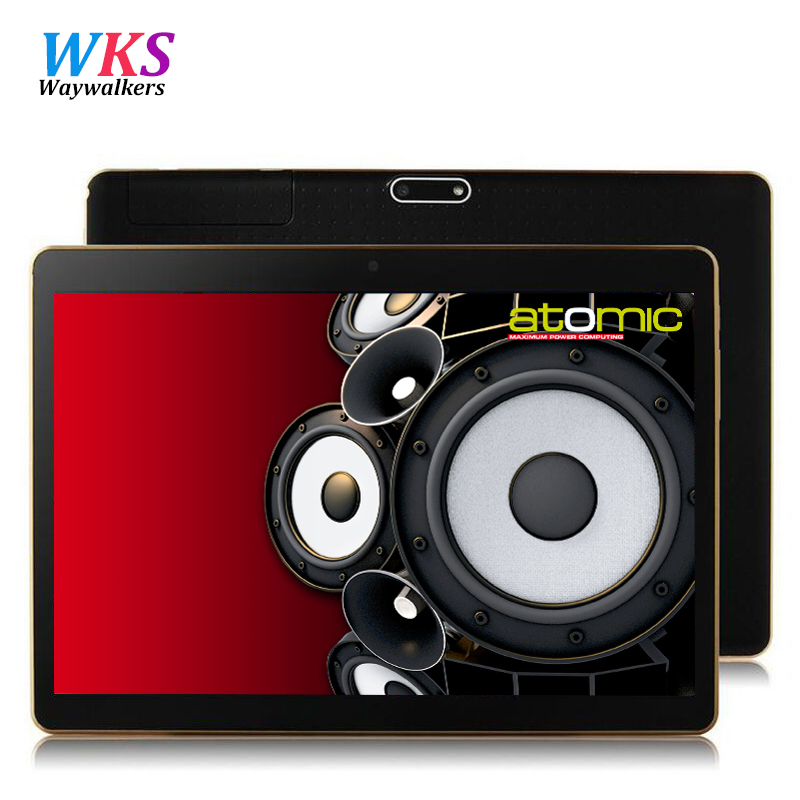 Original 9.6 Inch waywalkers tablet pc 3G and 4G LTE smartphone Android 5.1 Octa Core 4GB RAM 64B ROM Best Christmas tablet