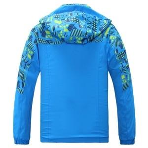 Image 4 - À prova dwaterproof água índice 10000mm à prova de vento impressão meninas meninos jaquetas quente criança casaco crianças outerwear crianças roupas para 120 170cm