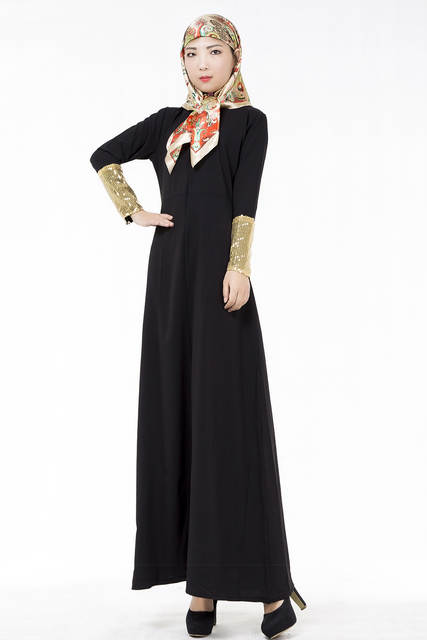 3e21727625 Online Shop MZ Garment Muslim Women Dress Sunday Best Long Sleeve Dresses  Malaysia Islamic Abaya Fashion Muslim Maxi long dress