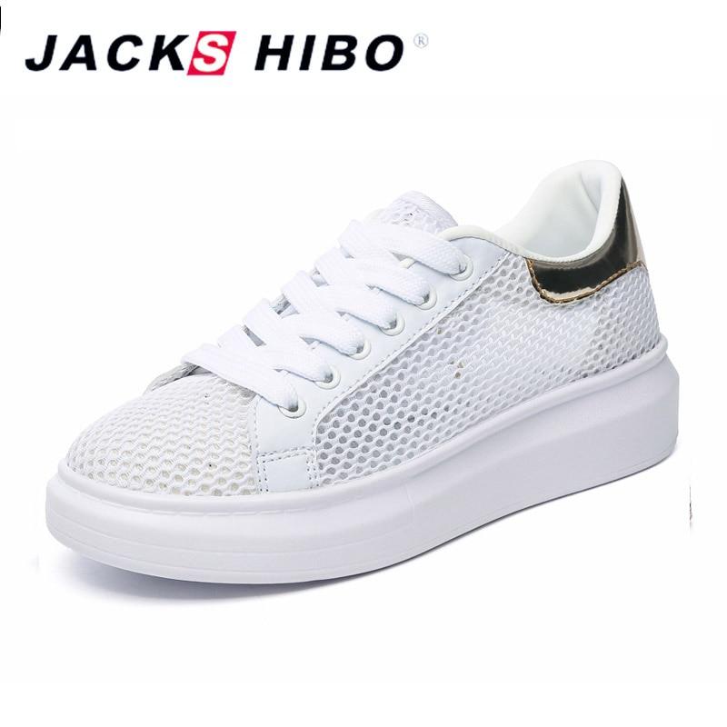 JACKSHIBO Fashion Air Mesh Platform Kengät Naiset Kesä hengittävä - Naisten kengät