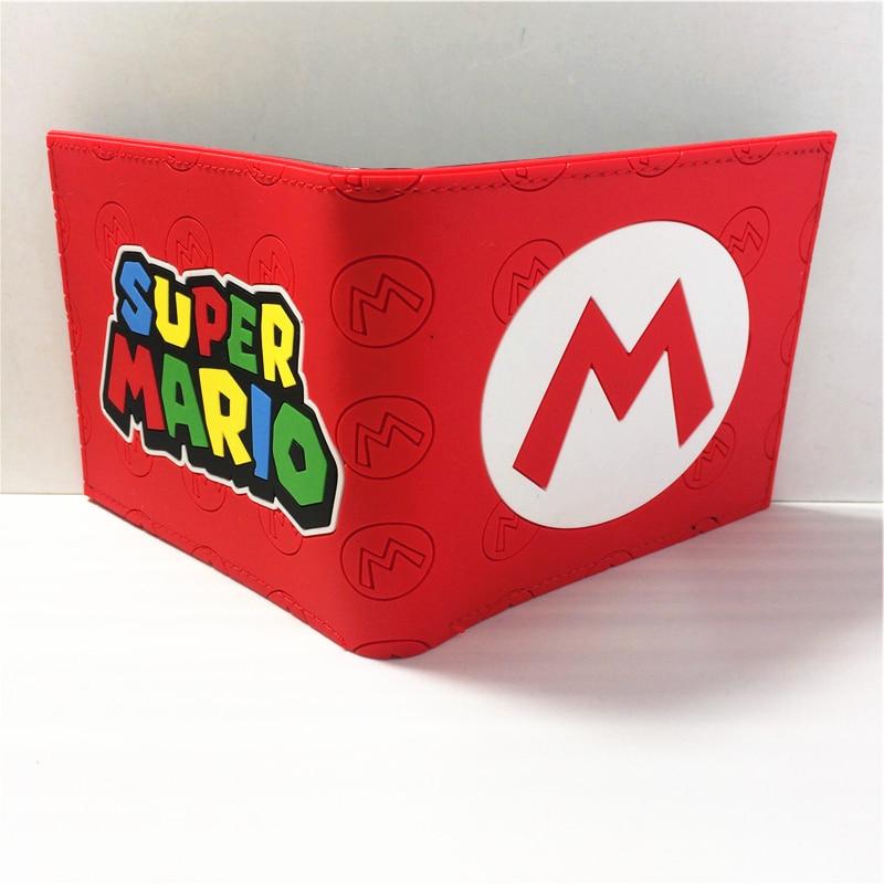 Игры Nintendo Super Mario Bros. Логотип кошельки кошелек multi-Цвет 12 см W396