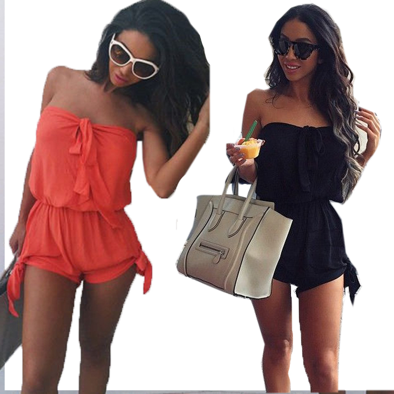 Women Sexy Celeb Mini Playsuit Rompers Ladies Jumpsuit Summer Shorts Beach Sun Clothes P18 RE3