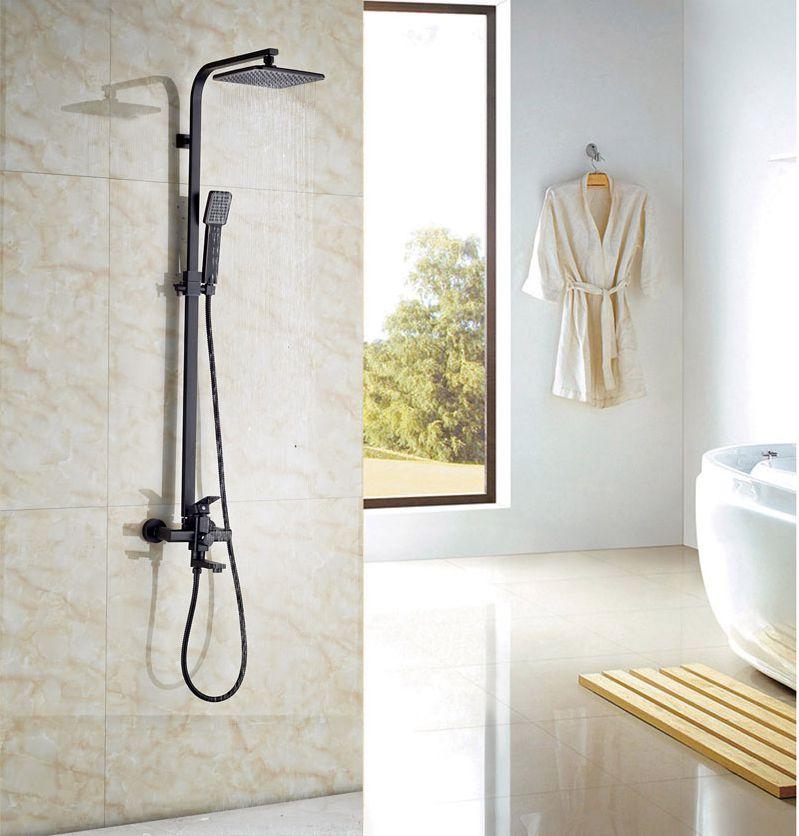 Здесь продается  Newly style Oil Rubbed Broze Shower Set 8-in Rainfall Shower Head Single Lever  Строительство и Недвижимость