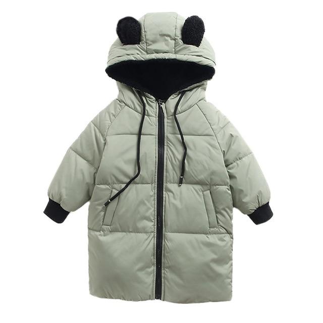 0e6dfd21a 2018 Children Winter Jacket Kids Snowsuit Baby Boys Girls Warm ...
