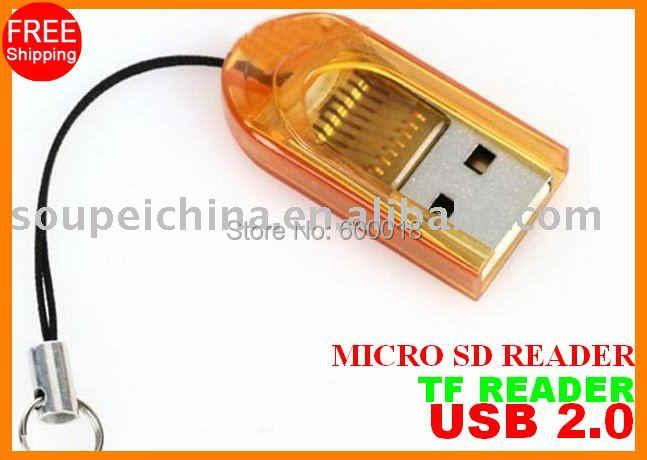 Miễn phí vận chuyển với số lượng theo dõi Micro SD SDHC thẻ TF Card Reader SPTR002 hỗ trợ 1 gb 2 GB 4 gb 8 gb 16 gb 32 gb 64 GB