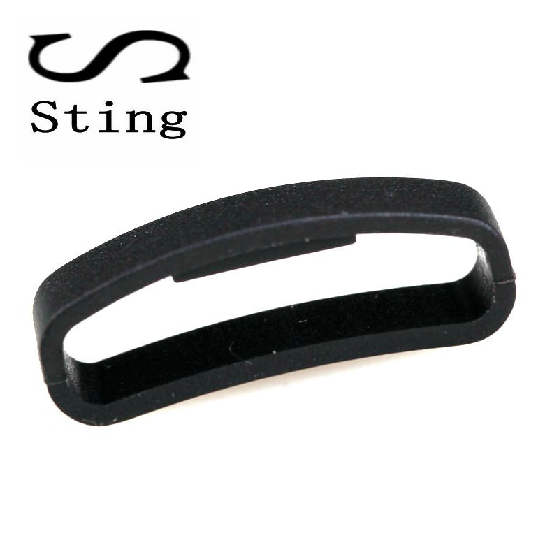 Black Watchband Strap Rubber Holder Locker For SUUNTO CORE SUUNTO Ambit 1 2 3 2R 2S Watch Accessories Ring Loop soft silicone watch band rubber watch strap waterproof watchband for suunto ambit 1 2 3 watch