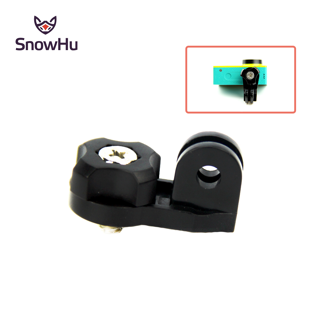 SnowHu For Universal Bridge Adapter For Gopro Mount With 1/4 Inch Connector Using For Xiaomi For Yi Action Camera  GP135