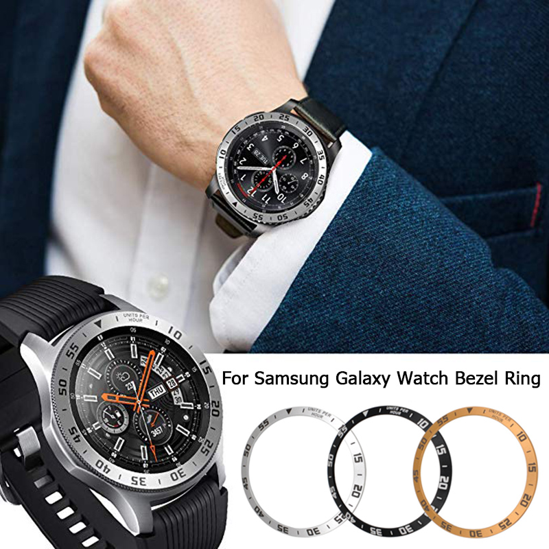 Smart Watch Cover For Samsung Galaxy Watch 46MM 42MM Bezel Ring Smart Watch Accessories Cover Also Fit For Galaxy Gear S3