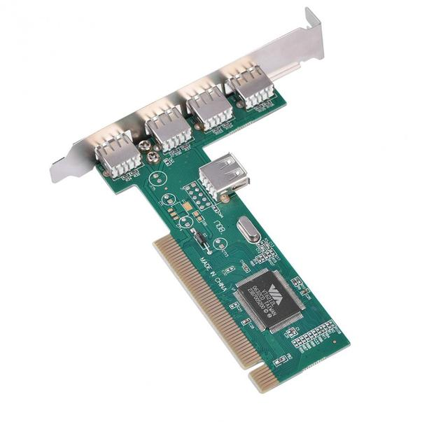 High-Speed-PCI-to-4-1-5-Port-USB-2-0-480