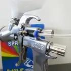 Prona R 403 IP luft spray gun, gravity feed mit kunststoff tasse, luftdruck zu tasse für hohe vicosity malerei materialm, R403 IP - 4
