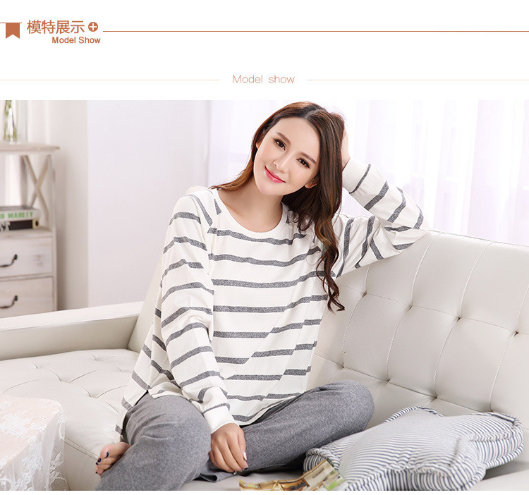 f1c33216f5 Detail Feedback Questions about Pajamas Sets Women Striped Striped ...