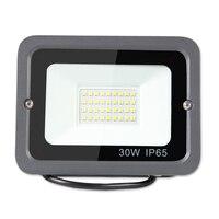 Светодиодный прожектор 30 W 220 V солнечные светодиодные прожекторы Открытый лампы освещения садовый водонепроницаемый светодиодный свет пло...
