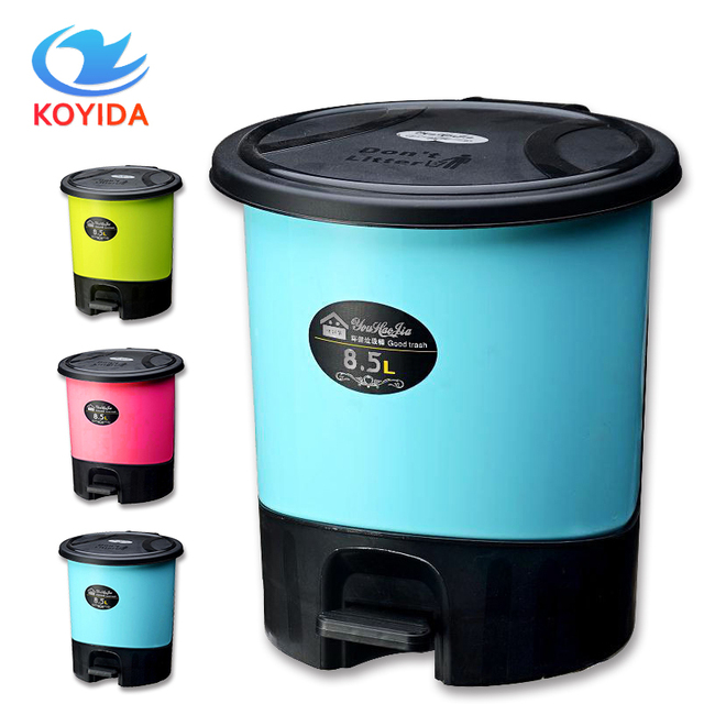 Lovely KOYIDA 5.5L/8.5L Trash Can Mini Car Dust Trash Bin Table Ash Bin