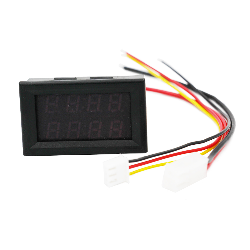Nuevo 0.28 pulgadas Pantalla bitual de 4 bits Amperímetro - Instrumentos de medición - foto 5