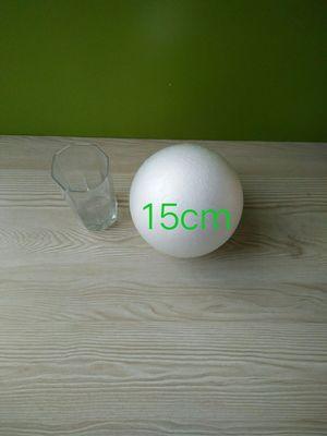 Polystyrene Styrofoam White Foam Ball Party Wedding Decoration Ball Kids DIY Handmade Crafts Balls 18cm(diameter) 1 Piece