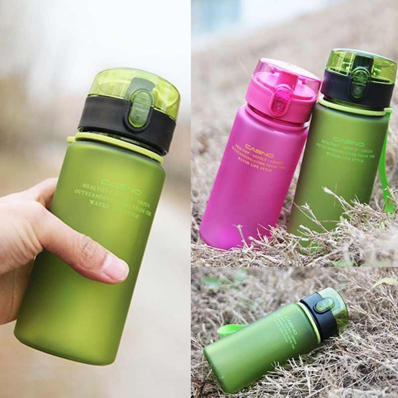 400 Ml 560 Ml Botol Air Olahraga Berwarna Merah Muda Botol Air Botol Saya Garrafa Sport Outdoor Hiking Portabel Botol w5B013
