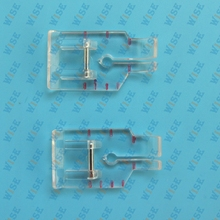 2PCS SnapOn 1/4″ Quilting/Patchwork clear Foot Singer,Kenmore,Janome,Viking #P60498