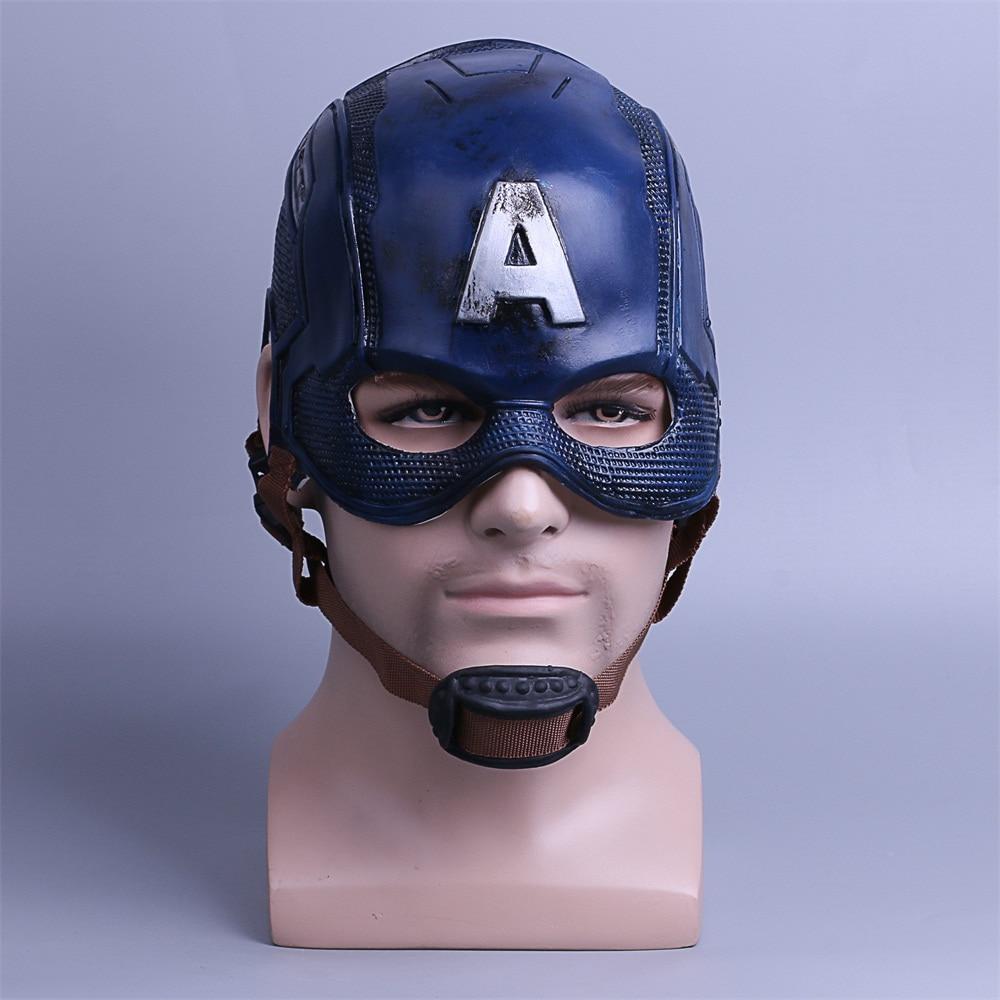 Косплэй Капитан Америка 3 маски Мстители гражданская война Маска Хэллоуин шлем латекс маска Косплэй костюм