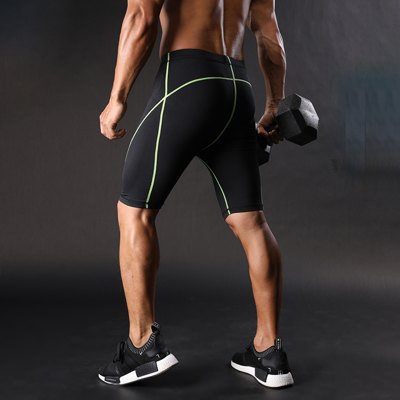 2018 summer new mens fitness shorts Fashion Casual gyms Bodybuilding Workout male Calf-Length short pants Brand Sweatpants