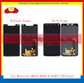 "High Quality 4.3"" For Motorola Droid Razr M XT907 Full Lcd Display Touch Screen Digitizer Sensor Assembly Complete with Frame"