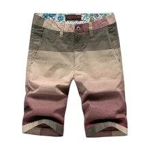 2017 новых мужчин джинсовые шорты высокое качество хлопка Короткие Летние мужские плюс размер светло-желтый мода плюс размер мужские шорты