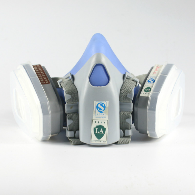 Dustproof respirator mask, protective clothing, silica gel, цена