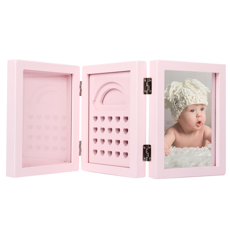 Baby Birth Hand Footprints Production Infant Deciduous Baby Hair Preservation Box Growth Memorial Storage Box
