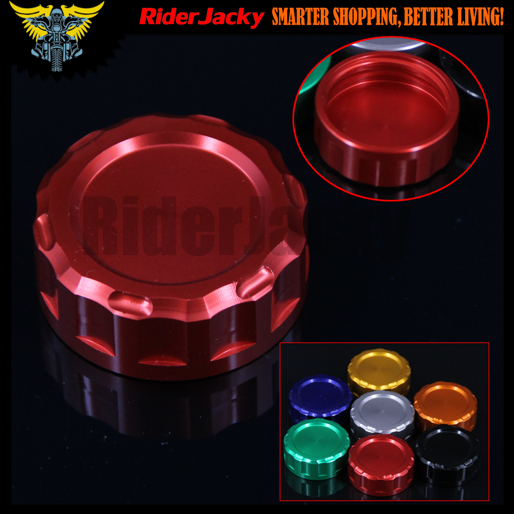 Red Motorcycle CNC Clutch Fluid Reservoir Cap Master Cylinder Cover For Honda VFR750R RVF750R CBR1000RR CB1000R RVT1000R RC51 for honda cb1000 cb1100 cb1300 cbf1000 motorcycle front brake clutch master cylinder fluid reservoir cover cap
