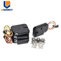10 sztuk szafka blokada elektryczna wybiera zatrzask zamek elektromagnetyczny do elektronicznych szafki inteligentna blokada szafki z wykrywania stanu