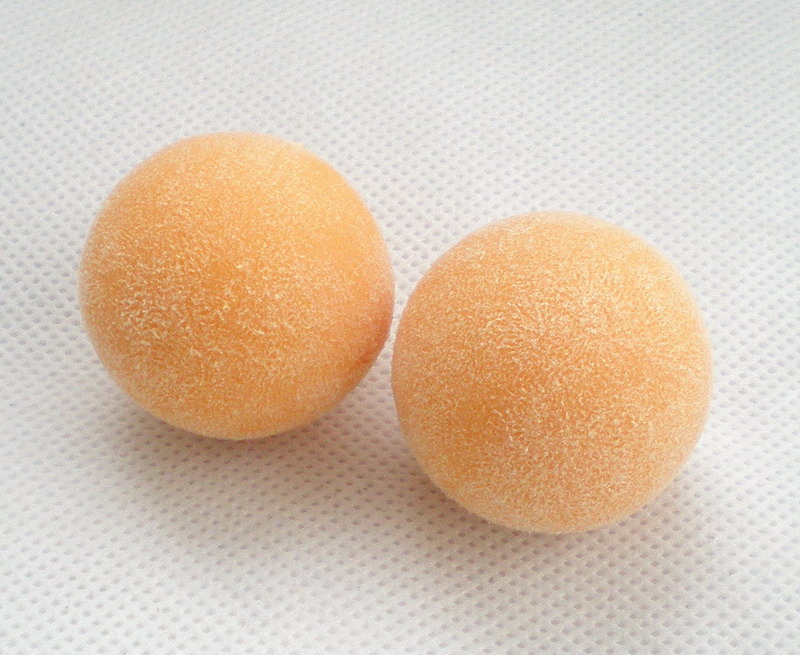Free Shipping 2pcs/lot NEW 36mm Yellow Foosball Table Soccer Table Ball Football Balls Baby Foot Fussball 131