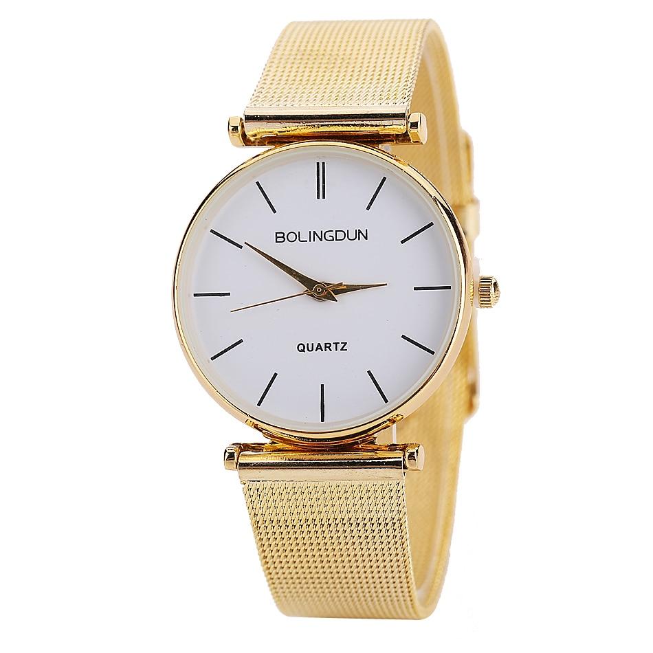 Poersi 2019 Brand Fashion Luxury Women Watch Watches Stainless Steel Casual Dress Watches Quartz Watch Relogio Femino LS113