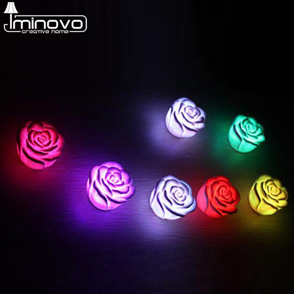 Luzes da Noite night light mudando a cor Formato : Floral