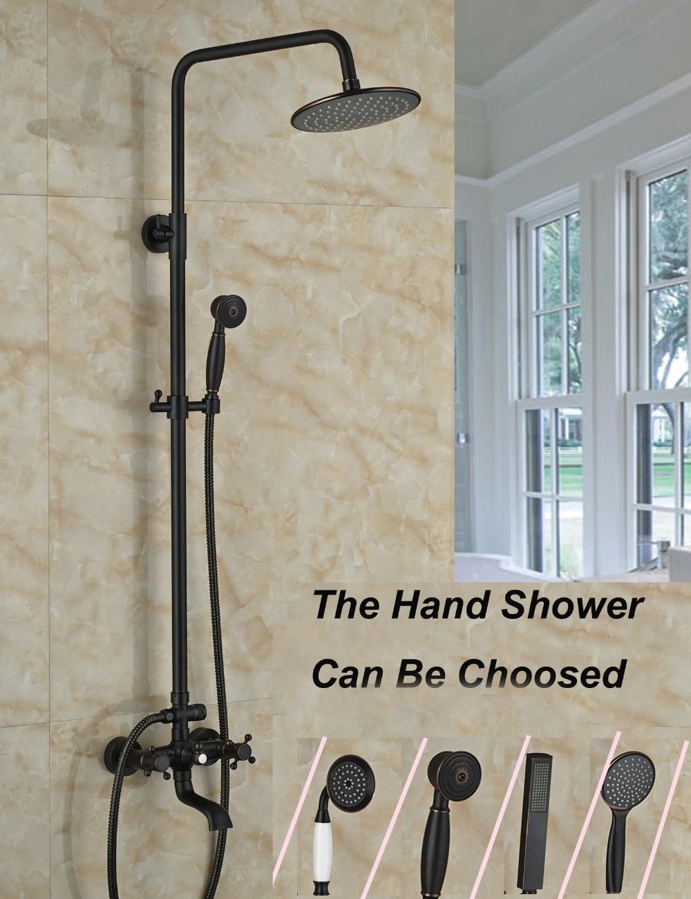 Oil Rubbed Bronze Shower Head Faucet Promotion Shop for