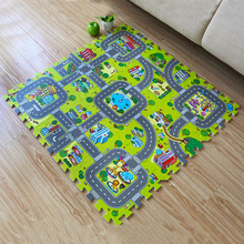 Baby Crawling Mat Baby Play Mat Fruit Letters and Farm Baby Carpet Developing Mat for Children Baby Cushion Toy Game Pad 2015 double surface baby play mat 200 180 0 3cm crawling mat baby carpet animal car dinosaur developing mat for children game mats