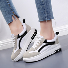 Women Vulcanized Shoes Genunine Leather