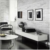 خمر رمادي أبيض الطوب خلفيات لفة غرفة المعيشة غرفة الطعام تغطي خمر pvc 3d ورق الحائط اضافية سميكة ديكور المنزل