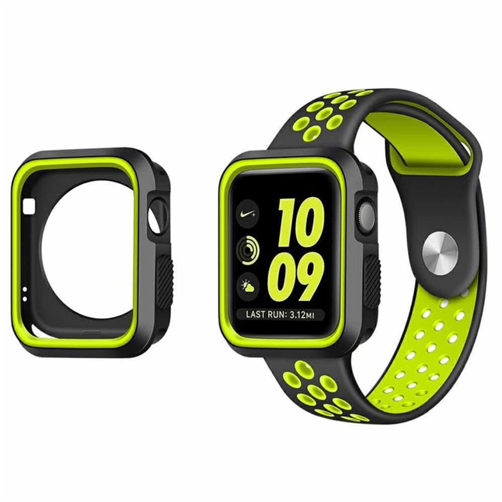 SOONHUA High Quality Soft TPU Case For Apple Watch Series 1 2 3 38 mm 42mm
