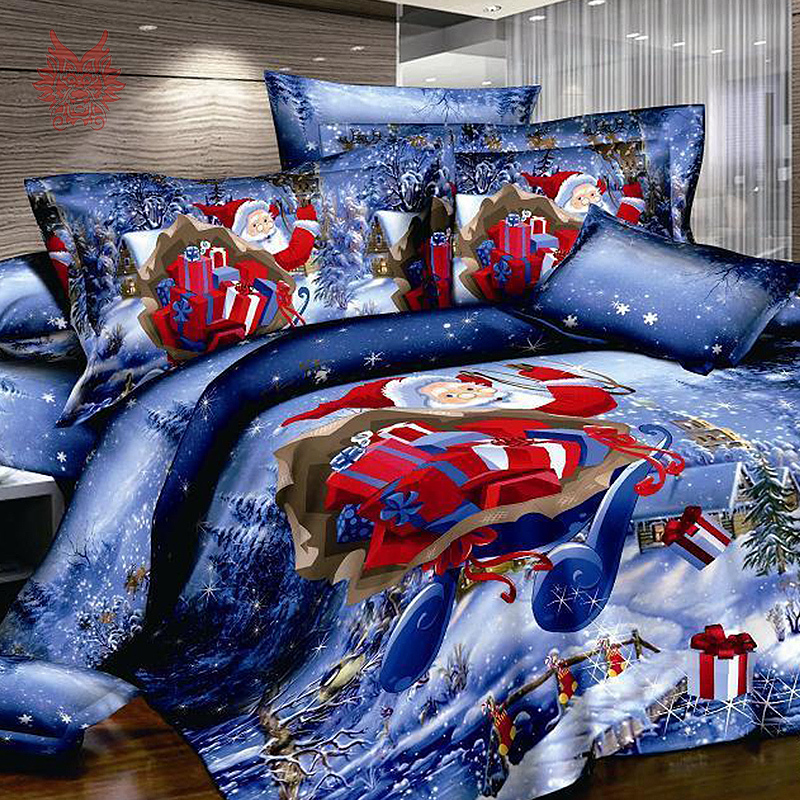 aliexpress : buy 2015 american 3d christmas snowman bedding