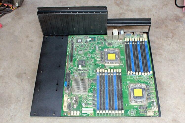 mod computador caixa alumínio m atx itx