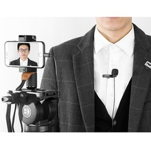 BY-M1 3.5mm Audio Video Record Lavalier Lapel Microphone