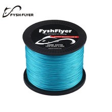 500M Brand Superpower 8 Strands Strong Japan Multifilament 100%PE Braided Fishing Lines 89, 92, 100, 140 LB Yellow, Blue, Green
