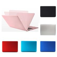 Plastic Matte Case Cover for Macbook Air Retina Pro 11 12 13 15 Inch Multi-color Laptop Case for Apple Macbook A1706 A1707 A1708