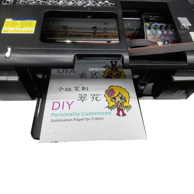 sublimation ink used for printer T50 T60 R1390 L805 L801 P50 heat transfer  ink