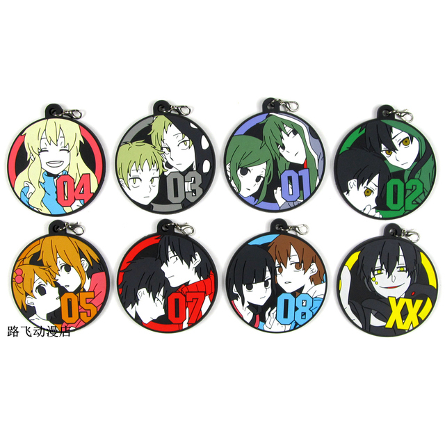 Актеры mekakucity Kido Seto Kano Marry Mom Ene Shintaro Hibiya фигурка аниме фигурный брелок кулон подарок на Рождество 6 см