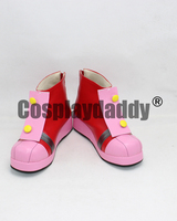 SONIC BOOM Amy Rose Cosplay Shoes X002