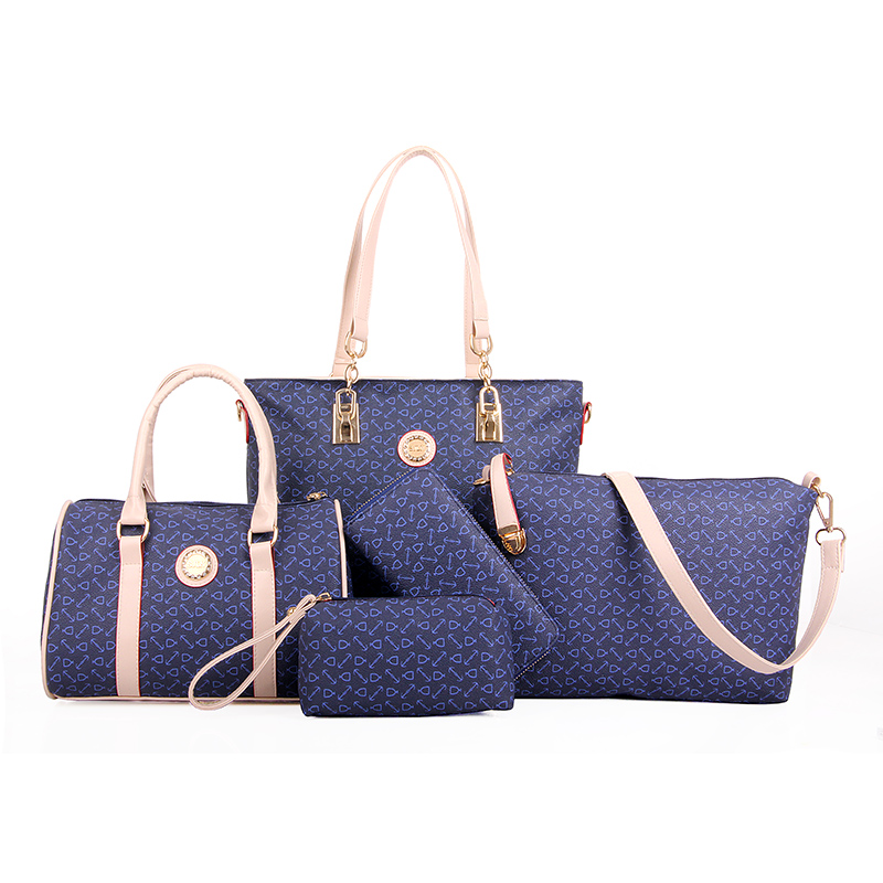 ONEFULL NEW FASHION Luxury Women Composite Bags Handbags High Quality Bolsos Ladies Sac Bag Set in Shoulder Bags from Luggage Bags