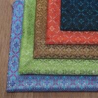 75x100cm New Fashion Japanese Style Metallic Jacquard Brocade Fabric 3D Jacquard Yarn Dyed Fabric For Women