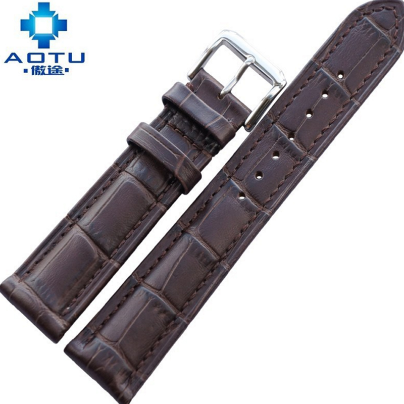 Genuine Leather Watchbands For Citizen Men 18/19/20/21/22mm Watch Straps For Ladies Watch Band Vintage Women Bracelet Belt 18 19 20 21 22mm 24mm watchbands belt men women black brown high quality genuine leather watch band strap deployment clasp