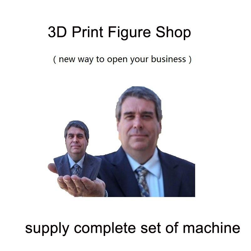 Corps humain scan impression figure faire boutique imprimante 3D scanner 3D platine vinyle 3D figure services machines complètes